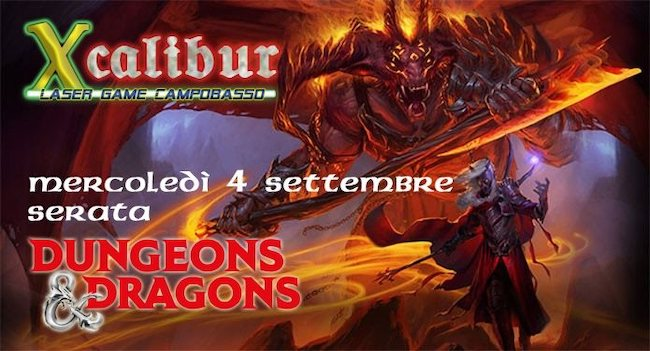 dungeons & dragons 4 settembre 2019