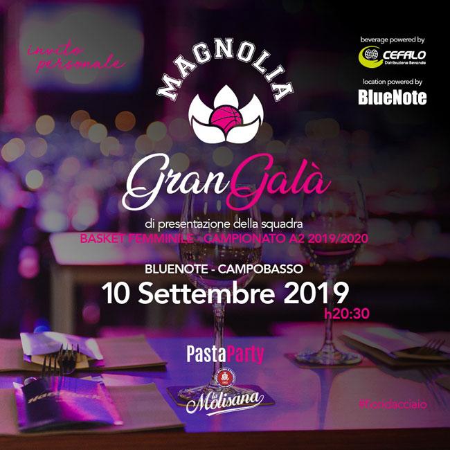 gran galà magnolia 10 settembre 2019