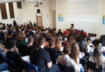 Primo giorno di scuola all'Istituto Alfano 2019 - 2020