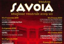 teatro savoia 2019-2020 locandina