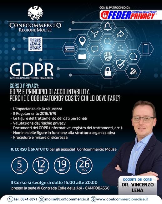 corso privacy novembre 2019