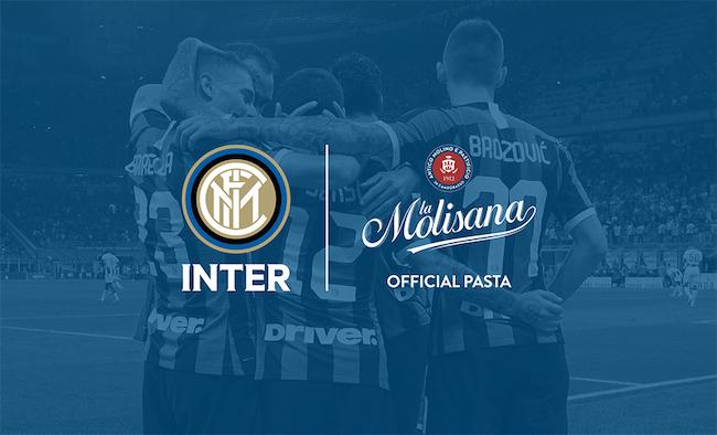 La Molisana Official Supplier di FC Internazionale Milano fino al 2021