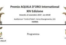 14° Premio Aquila D'Oro International a Isernia