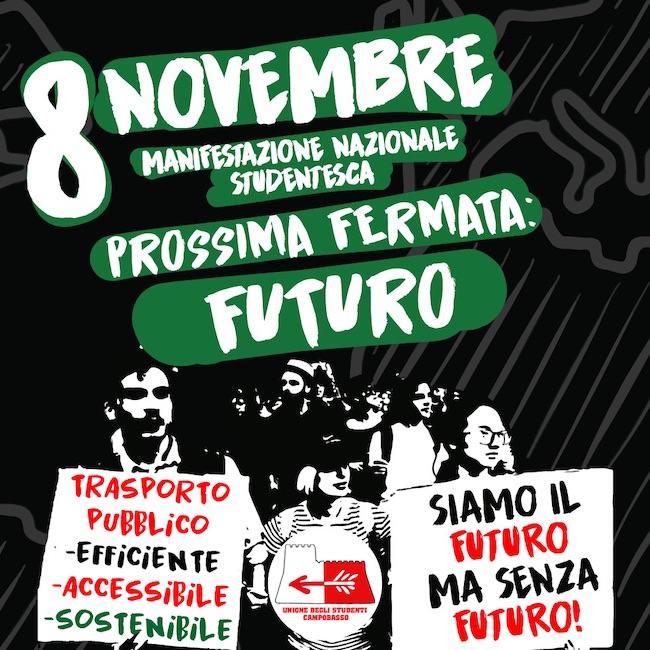 8 novembre manifestazione