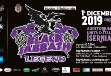 Black Sabbath Legend in concerto a Isernia