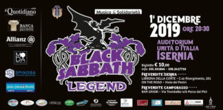 Black Sabbath Legend in concerto a Isernia