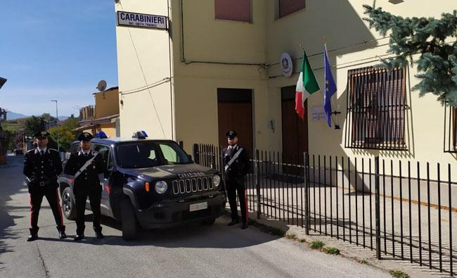 carabinieri torella
