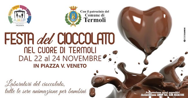 festa del cioccolato termoli 2019