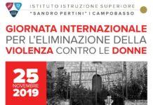 giornata eliminazione violenza-donne pertini 25 novembre 2019