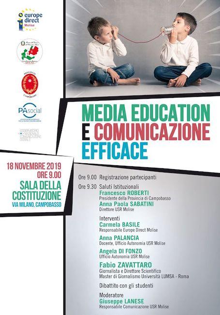 media education 18 novembre 2019