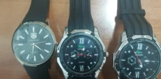 orologi sequestrati