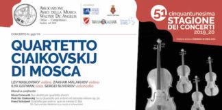 quartetto ciaikovskij mosta-campobasso 23 novembre 2019