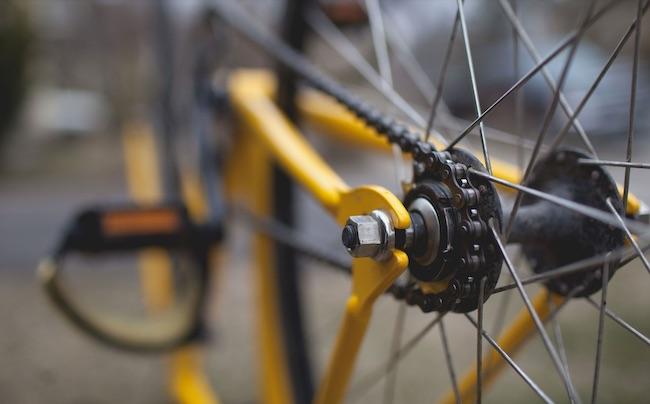 bicicletta raggio