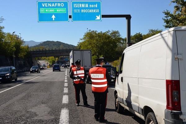 controlli venafro carabinieri