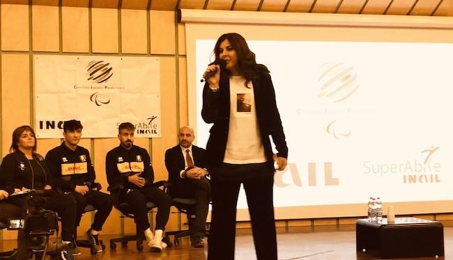 Paola Matteo nel suo intervento
