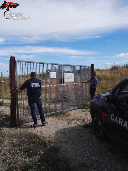 sequestro discarica Santa Croce di Magliano