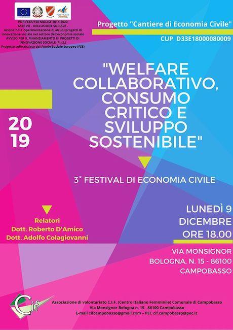 welfare collaborativo 9 dicembre 2019