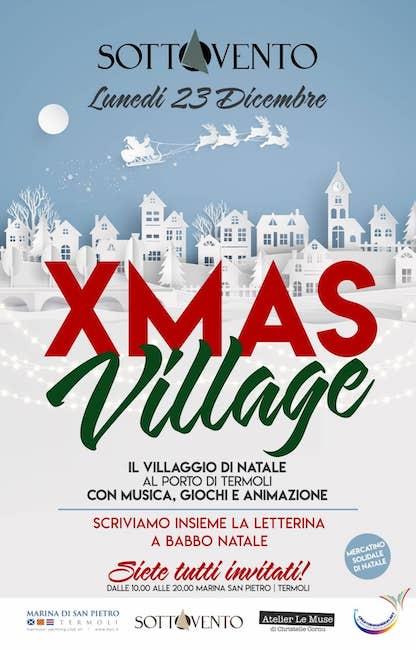 xmas village 23 dicembre 2019