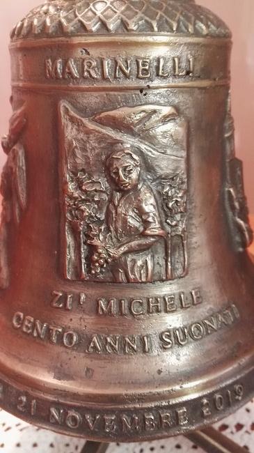 campana donata per centenario