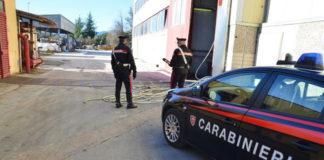 carabinieri furto rame