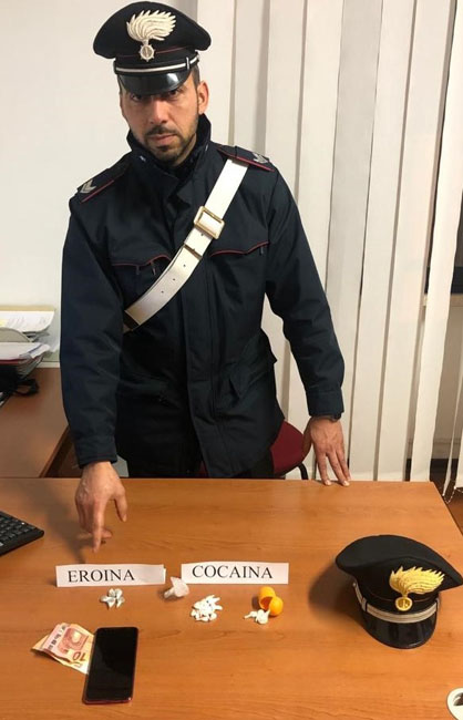cc campomarino arresto droga