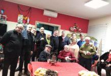 Il gruppo che ha donato la campana del centenario a zi Michele Ingratta - 25 gen. 2020