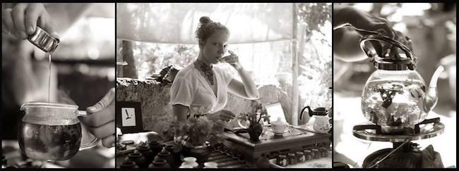 preparazione tè