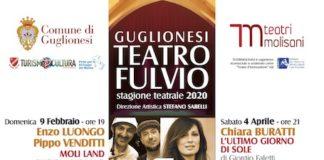 stagione teatrale 2020 teatro comunale fulvio guglionesi