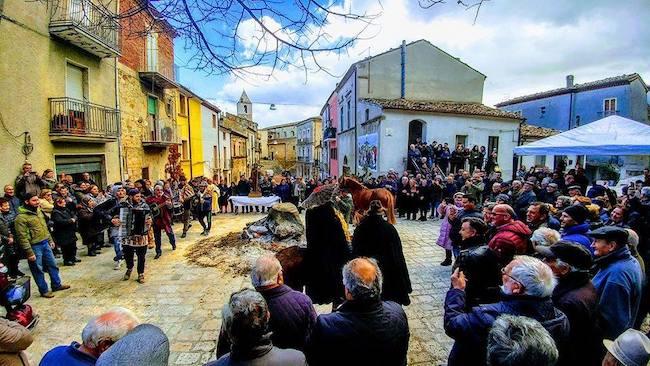 Tufara festa Sant'Antonio Abate