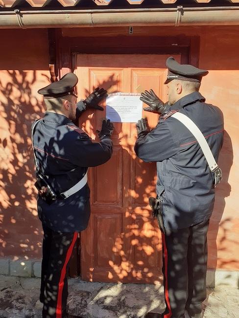 carabinieri venafro sigilli