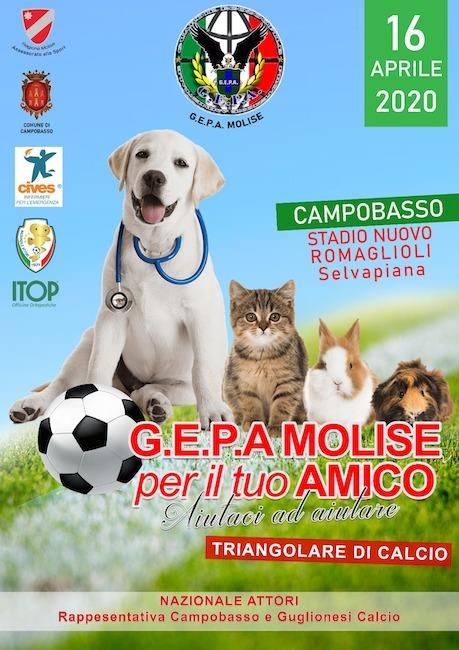 Nazionale Attori a Campobasso per un triangolare a scopo benefico