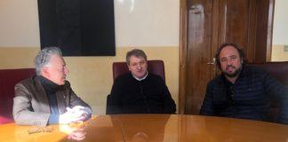 L'europarlamentare Massimo Casanova in visita a Termoli