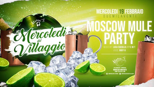 moscow mule party 19 febbraio 2020