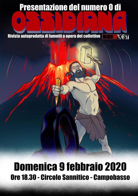 presentazione ossidiana 9 febbraio 2020