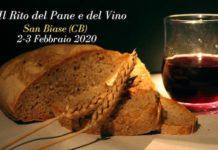rito del pane e del vino san biase 2020
