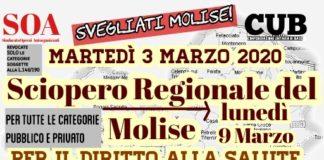 sciopero salute 3-9 marzo 2020