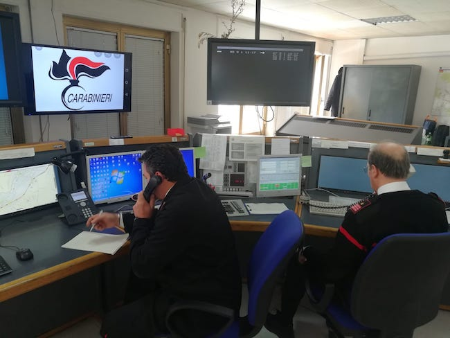 centro operativo carabinieri isernia 112