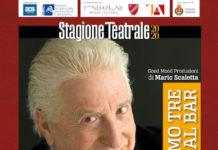 Gianfranco D'Angelo, Sergio Vastano e Tonino Scala al Teatro di Agnone