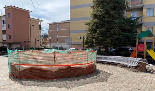 fontana pubblica isernia
