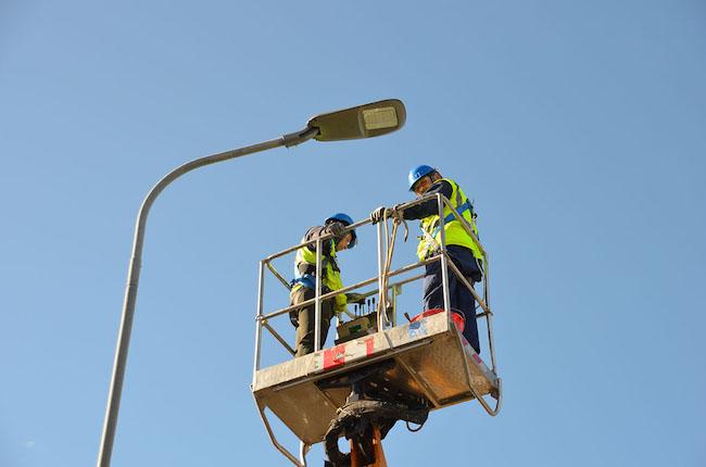 illuminazione pubblica termoli