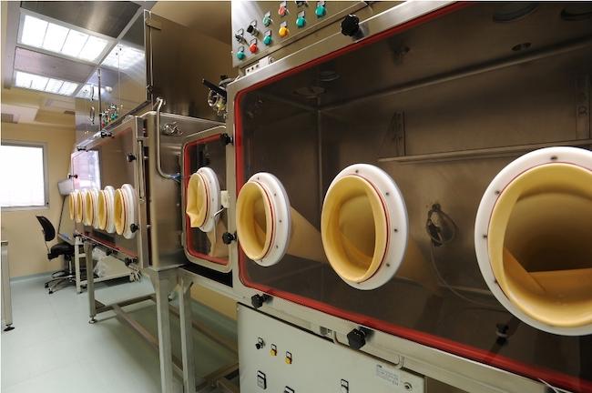 laboratorio massima sicurezza