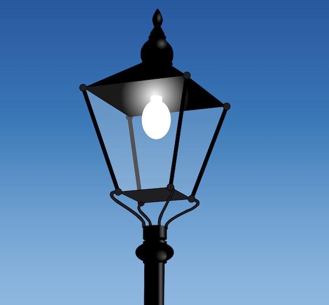 luce pubblica illuminazione