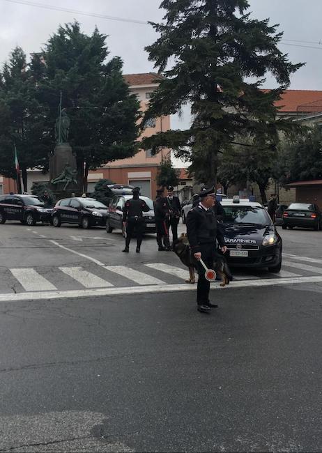 posto blocco carabinieri