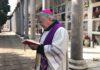preghiera vescovo cimitero termoli 27 marzo 2020