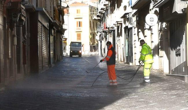 pulizia strade campobasso
