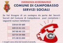 servizi sociali campobasso