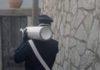 carabiniere bombola ossigeno