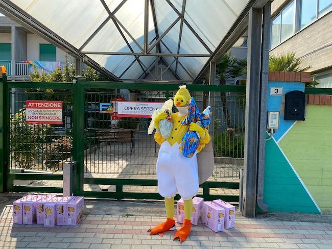 consegna uova pasqua