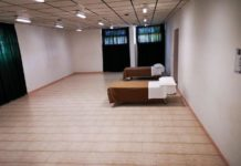 Termoli, un dormitorio femminile alla scuola Schweitzer