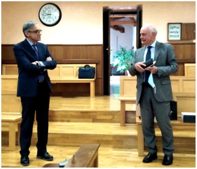 Isernia, il dottor Claudio Uccelletti lascia Palazzo San Francesco